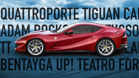 13 cars with names as bad or worse than Ferrari 812 Superfast