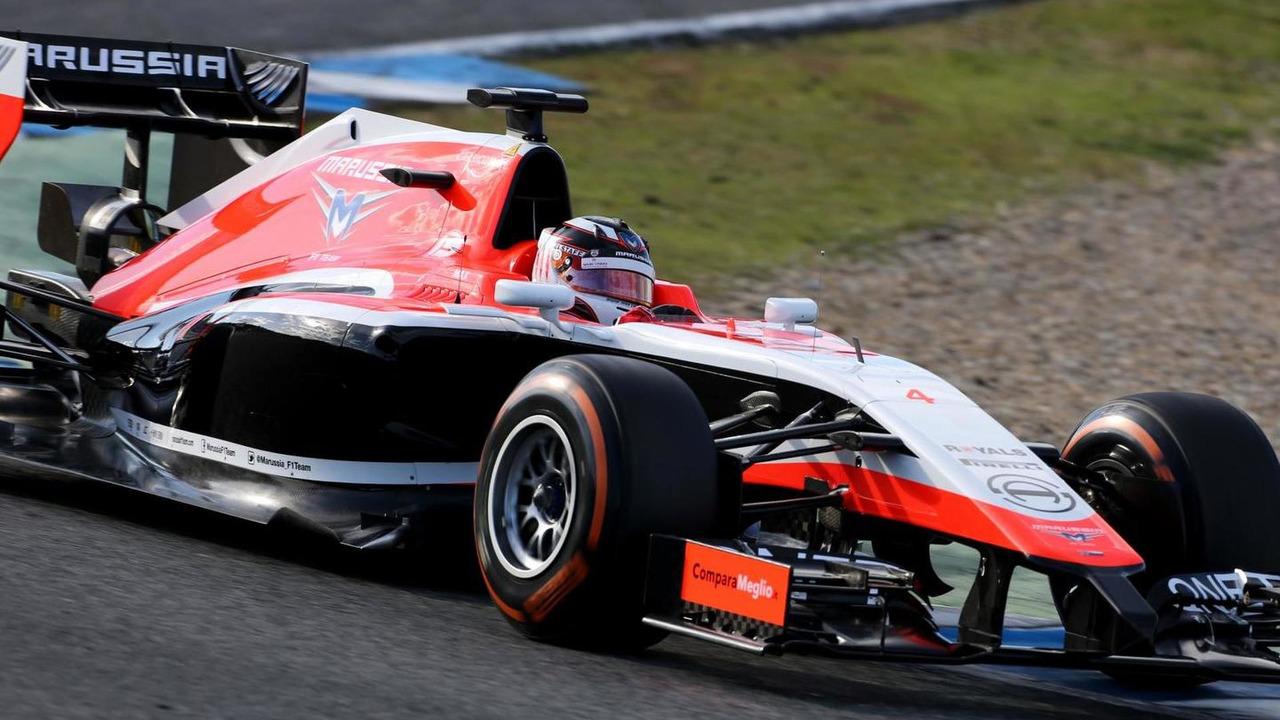 Max Chilton Marussia MR03 30.01.2014 Formula One Testing Jerez Spain