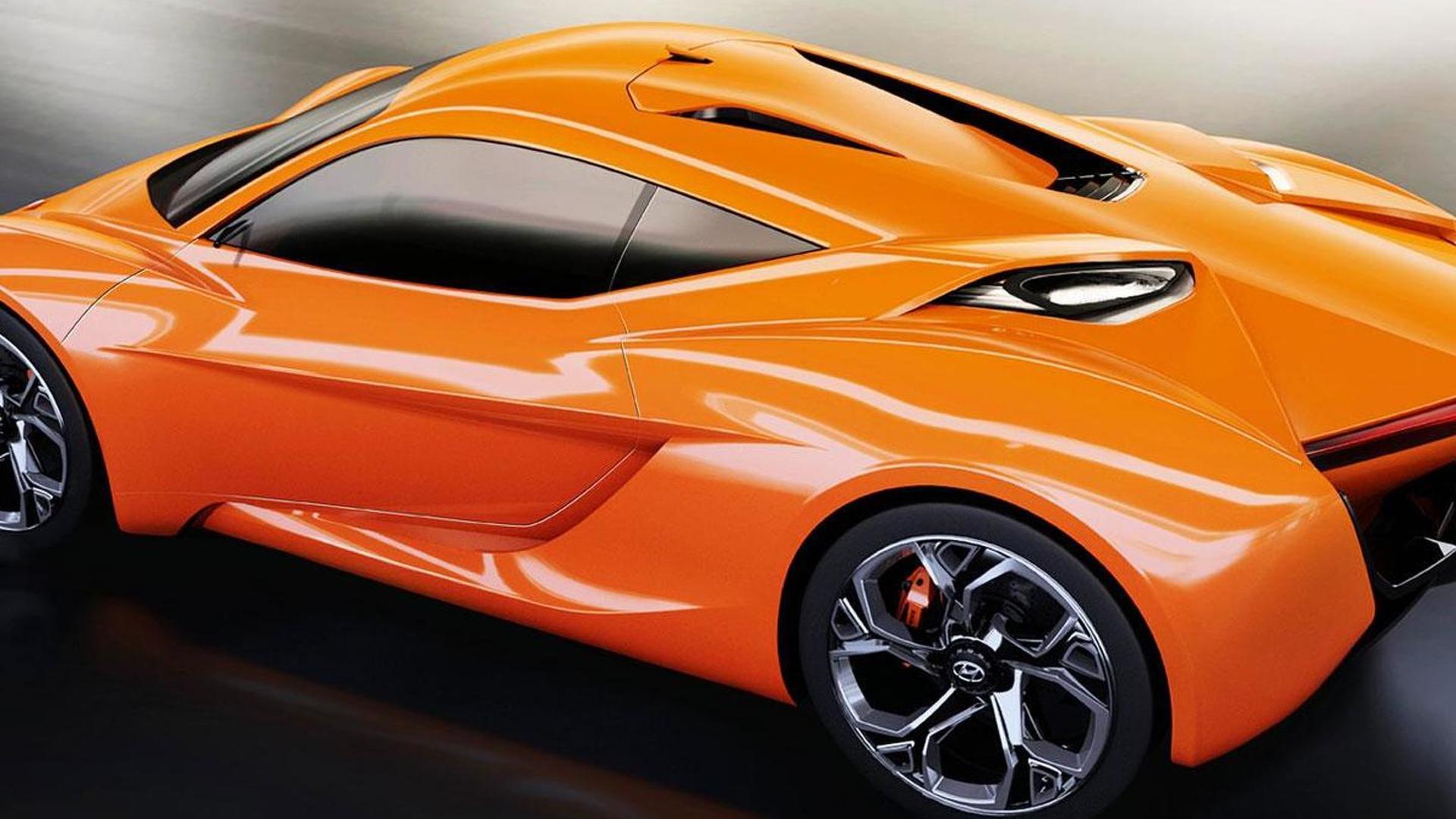 IED designers envision Hyundai PassoCorto concept rivaling Alfa Romeo 4C