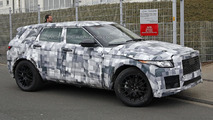 Jaguar crossover spied wearing modified Range Rover Evoque body