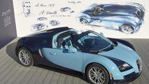 Bugatti Veyron Grand Sport Vitesse Jean-Pierre Wimille Edition debuts at Pebble Beach
