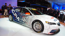 Acura TLX GT race car makes a surprise debut in Detroit, will compete with the Audi R8 LMS