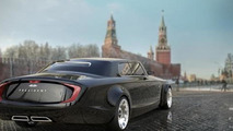 Russian presidential limo concept by Yaroslav Yakovlev and Bernard Weel 18.7.2013