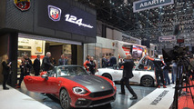 Abarth 124 Spider live in Geneva