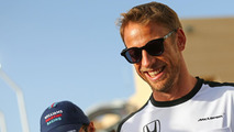 Button didn't 'storm out' after Bahrain - McLaren