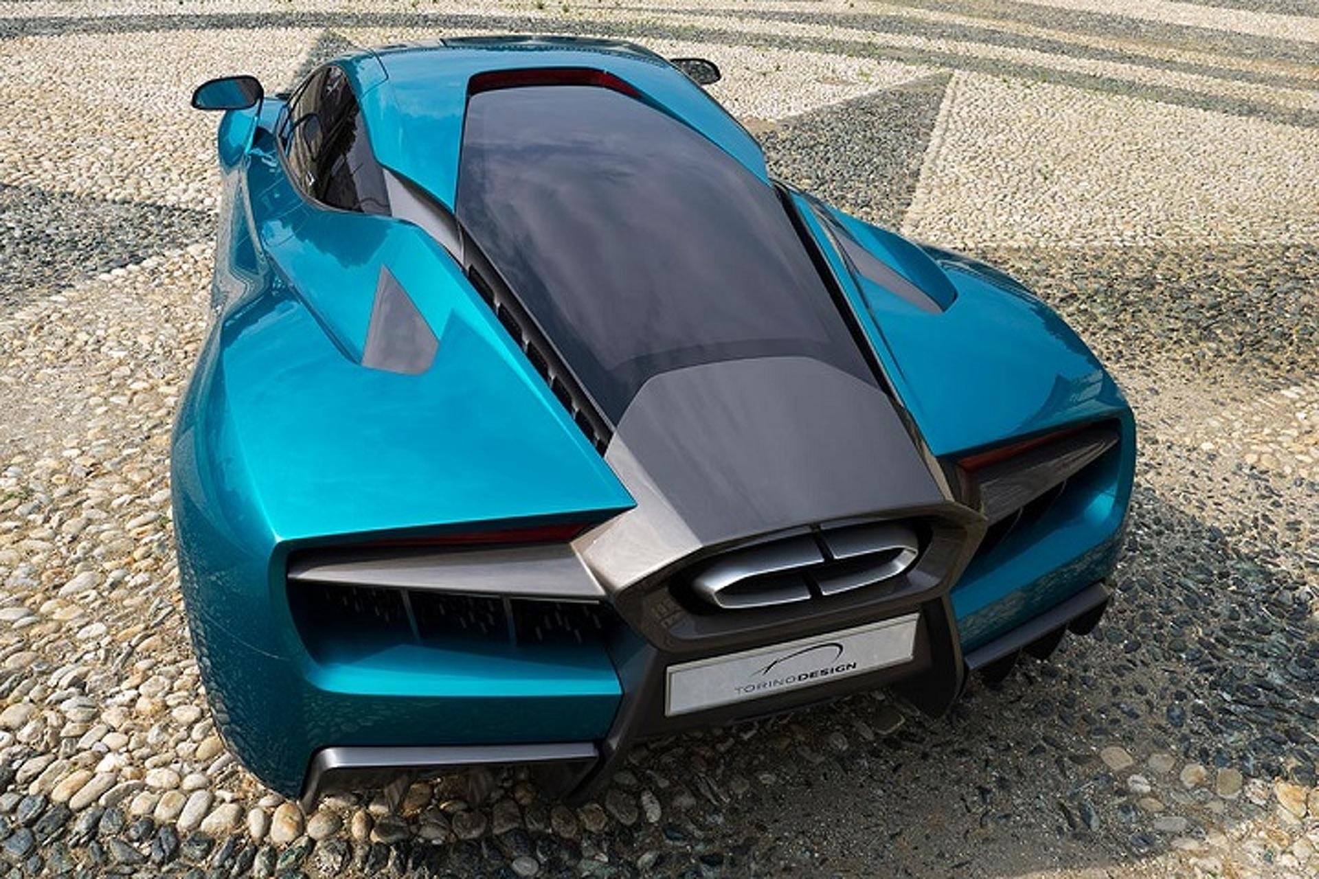 The Torino Design ATS Wildtwelve is an 860HP Hybrid Hypercar