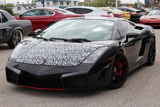 Chris Brown Sold His Tupac Lyric Lamborghini Gallardo