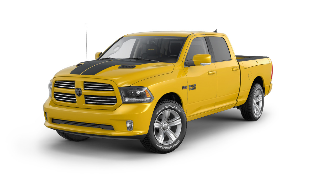 2016 Ram Stinger Yellow 1500 Sport