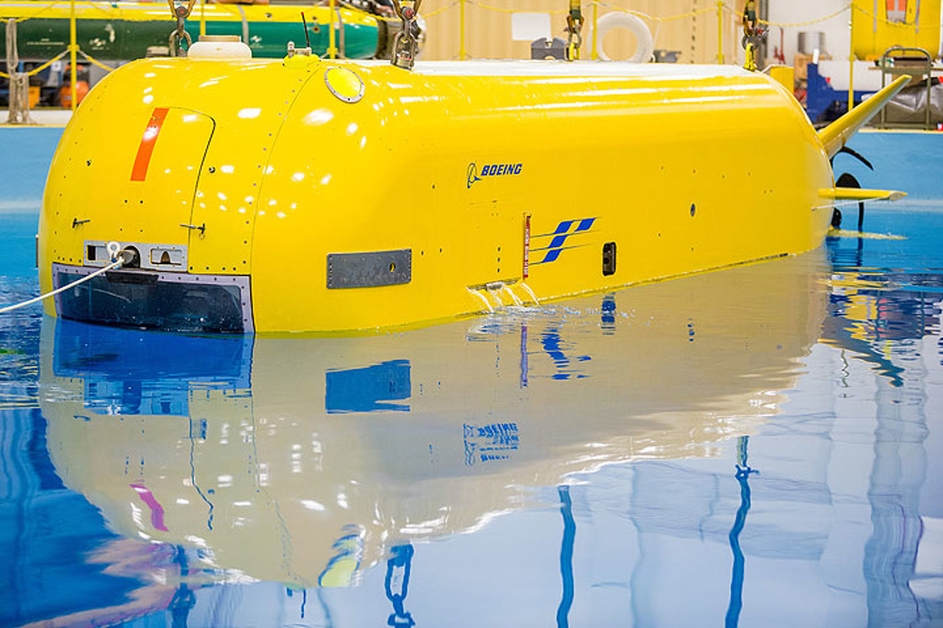 Boeing Echo Seeker is the Autonomous Submarine of the Future