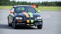 Record du monde de vitesse en voiture sur 2 roues