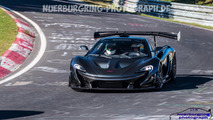 Is the McLaren P1 LM gearing up for a Nurburgring record attempt?