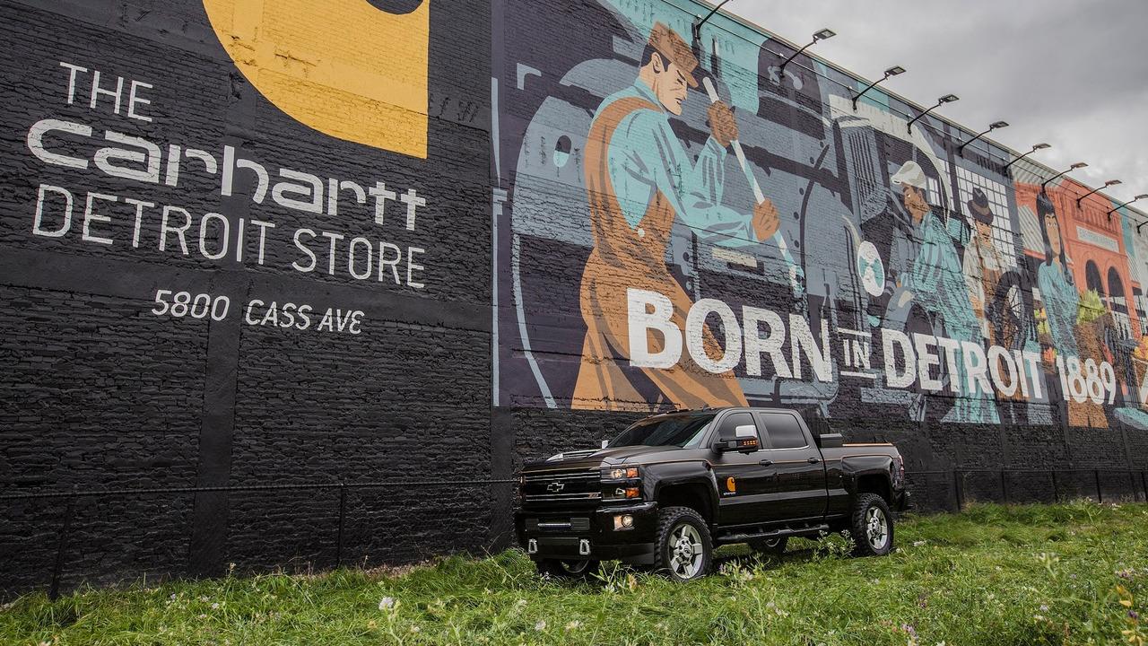Chevrolet Silverado HD Carhartt concept