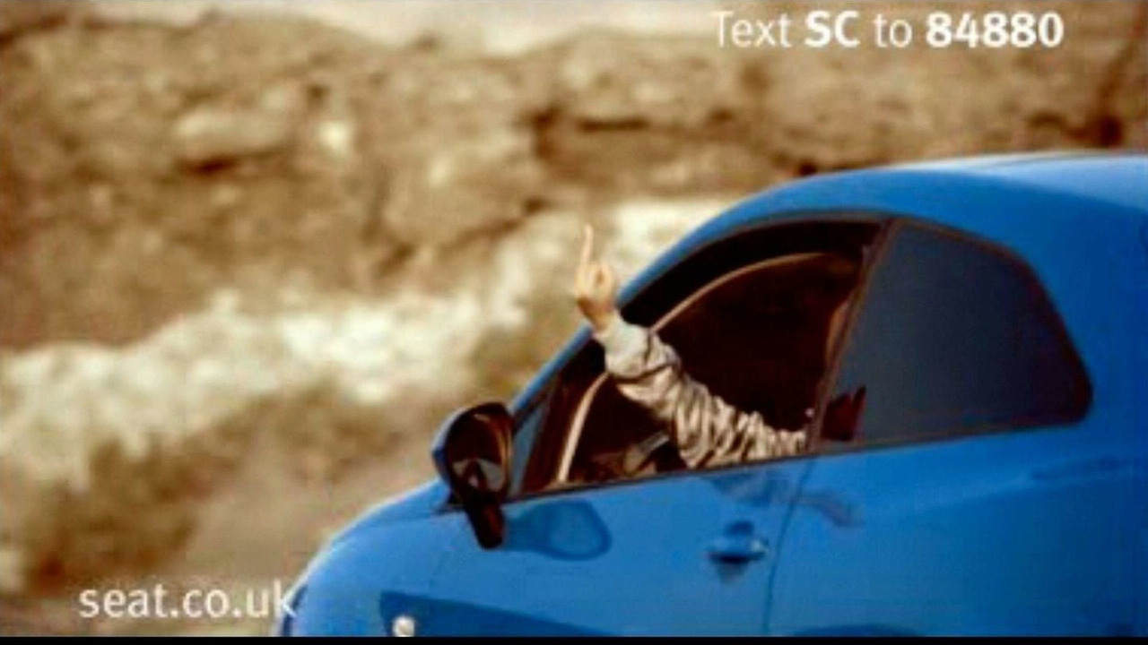 Seat Ibiza SC cinema commercial