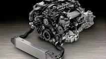 New Mercedes 4-Cylinder Diesel Engine