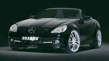 New Mercedes SLK tuned by Brabus