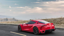 Toyota FT-1 Concept unleashed in Detroit [video]