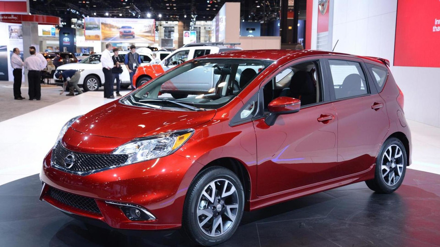 2015 Nissan Versa Note SR bows in Chicago with sporty styling