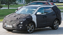 2015 Hyundai Santa Fe facelift spied for the first time