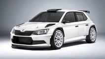 Skoda Fabia R5 production version revealed with FIA homologation