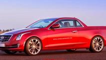 Cadillac ATS pick-up rendering / X Tomi