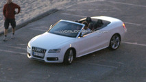 Audi S5 Convertible Finally Spied in the Open