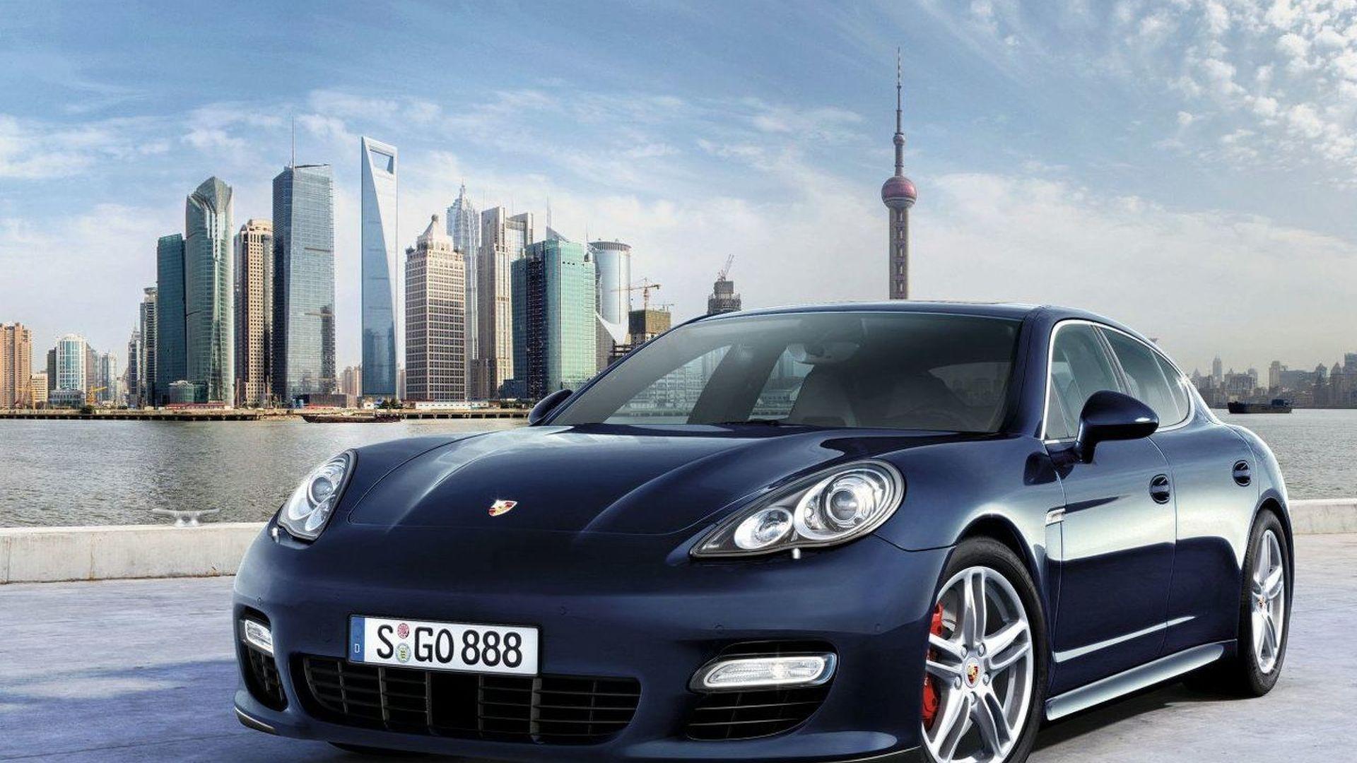 Porsche Panamera to Make World Premiere in Shanghai