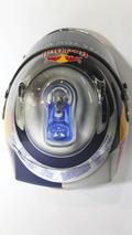 Vettel's helmet resembles Red Bull drink can
