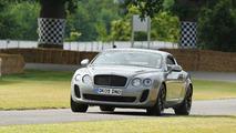 Bentley Continental Supersports laps Nurburgring with 5-time Le Mans Winner Derek Bell [video]