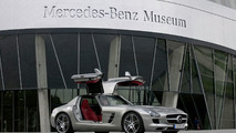 Mercedes-Benz SLS AMG Gullwing at the Mercedes-Benz Museum