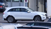 2016 Mercedes-Benz GLC drops most of its camouflage in latest spy shots