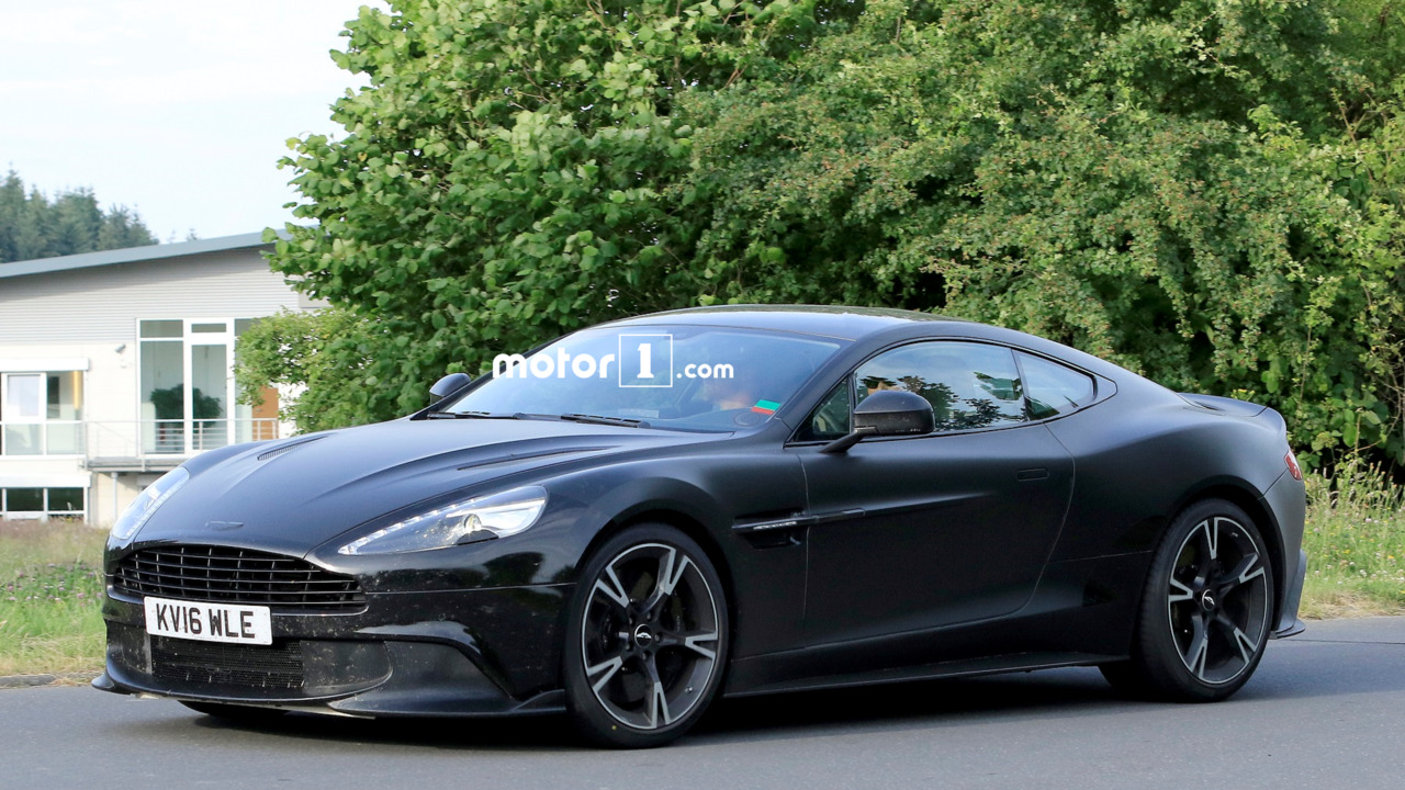 hardcore aston martin vanquish s spied at nurburgring. Black Bedroom Furniture Sets. Home Design Ideas