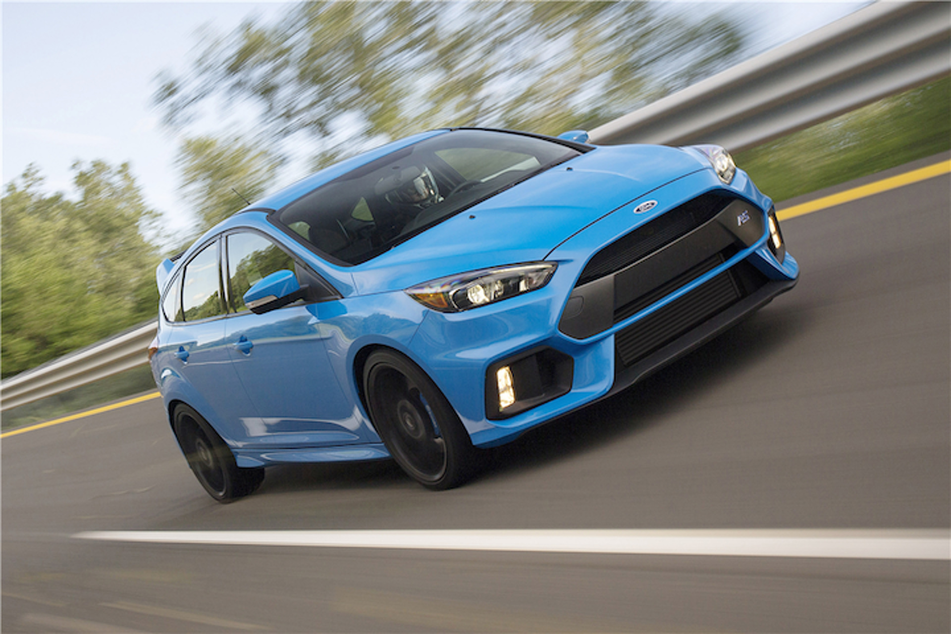 Someone Paid a Crazy Amount for the New Ford Focus RS (Which Went to Charity)