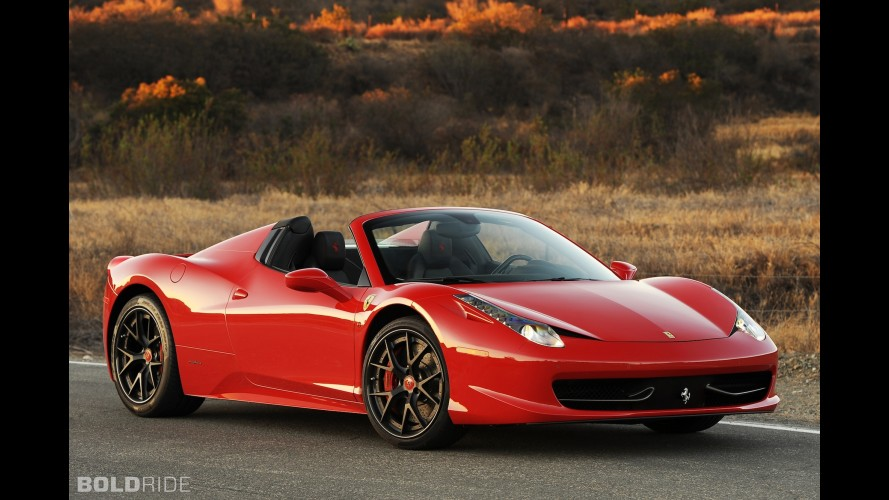Hennessey Ferrari 458 Spider HPE700 Twin Turbo