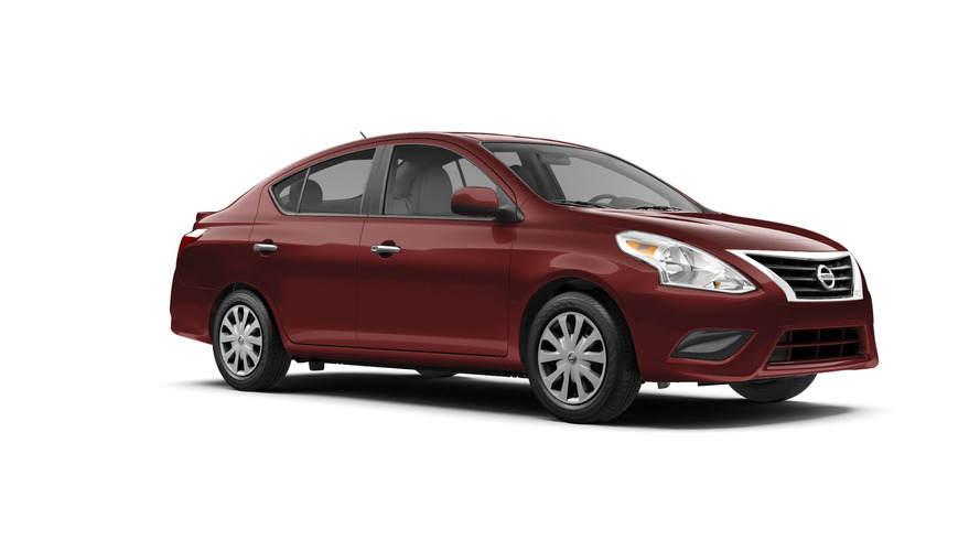 2017 Nissan Versa starts at $12,825 in the U.S.