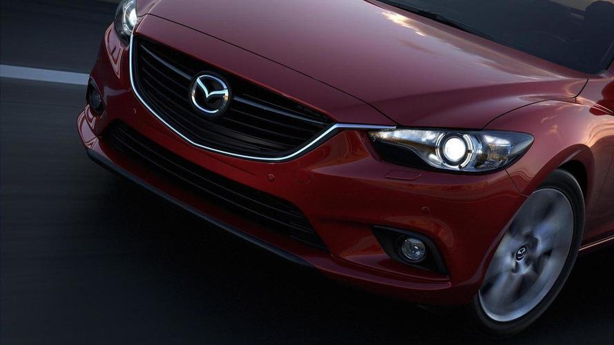 More 2014 Mazda6 semi-revealing photos released