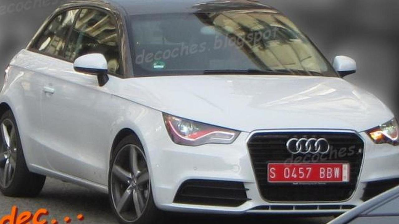 Audi RS1 spy photo