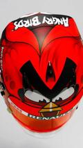 Heikki Kovalainen Angry Birds Arai helmet design, 960, 15.03.2012