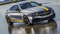 Mercedes-AMG C63 Coupe Edition 1 revealed