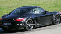 Next Gen Porsche Cayman Mule Spotted on the Ring