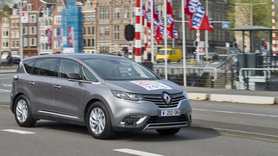 Renault Espace Autonomous Drive demonstrators showcased in Amsterdam