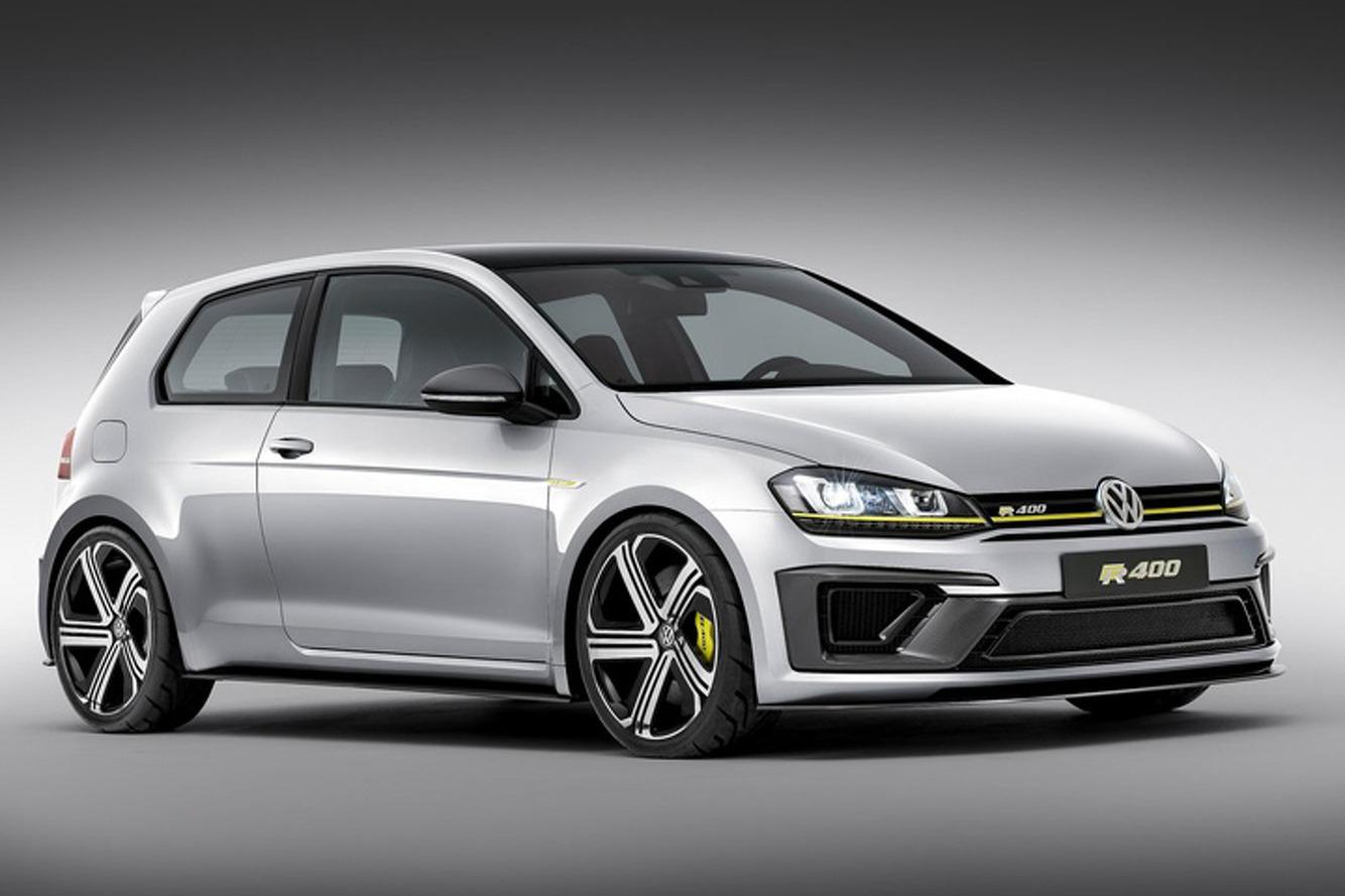 A 400HP Volkswagen Golf R is Coming