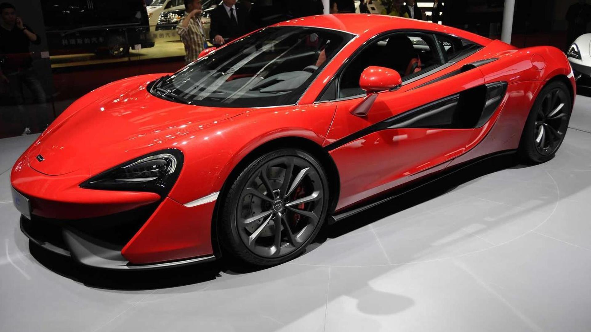 McLaren doesn't plan to go below 540C