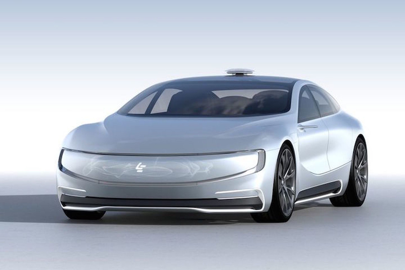 China's New Self-Driving Electric Sedan is the Latest Tesla Rival