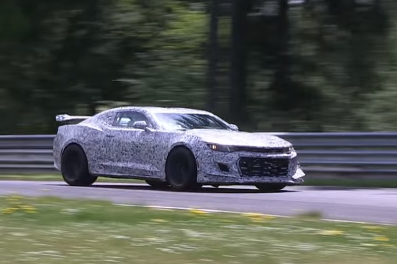 2017 Camaro Z/28 Could Get An Angry 7.0-Liter V8