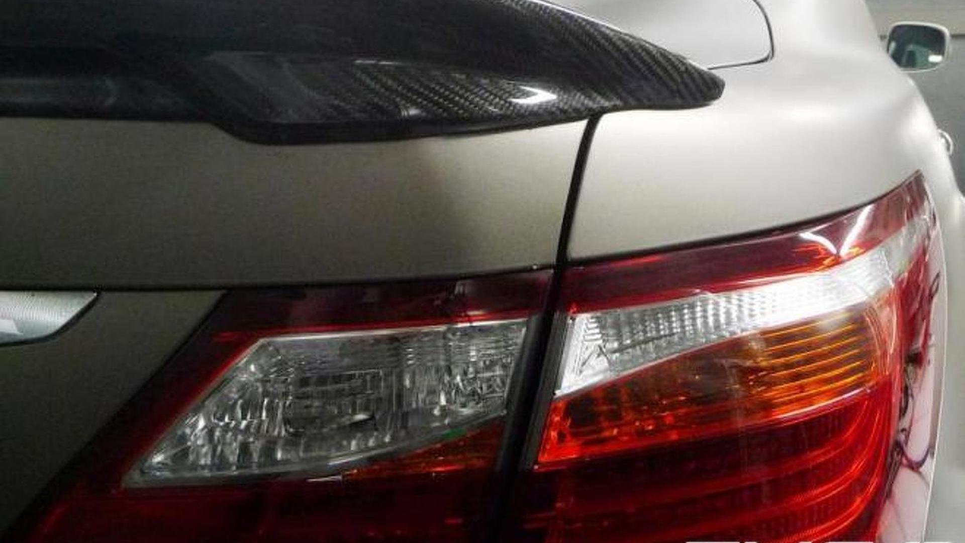 Lexus LS-based TX-650 by TMG teased