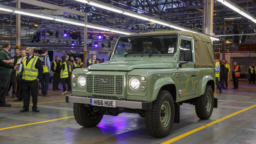 Land Rover - Le Defender est de plus en plus volé