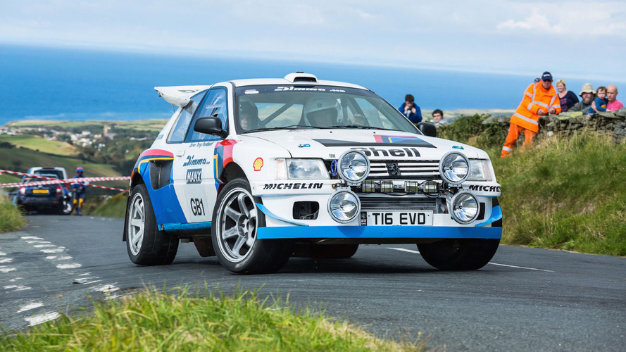 Peugeot 205 T16 rally car is actually an Evo underneath