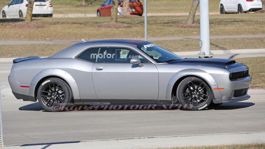 Dodge Challenger Demon fully revealed in latest spy shots