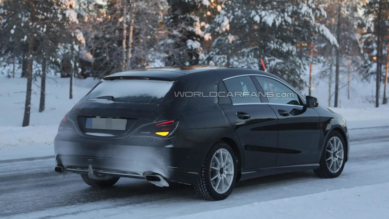 2015 Mercedes-Benz CLA Shooting Brake spy photo