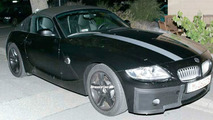 BMW Z4 Coupe Spy Photos